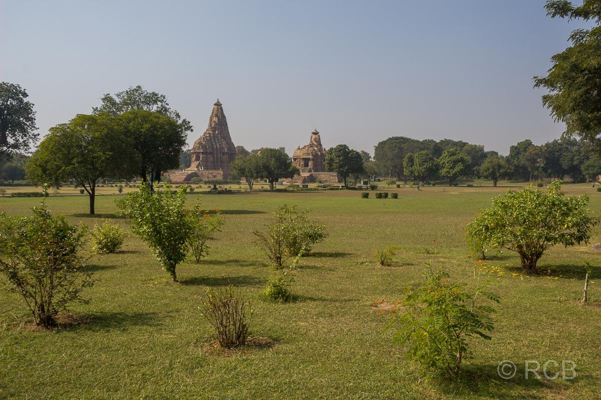 Khajuraho, Blick über die Anlage