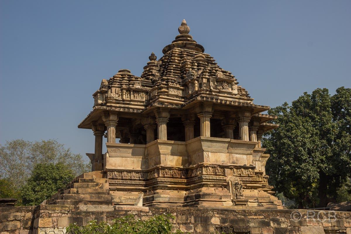 Khajuraho, kleiner Tempel