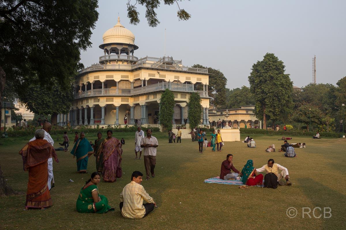 Allahabad, Anand Bhavan, das ehemalige Haus der Politikerfamilie Nehru, jetzt ein Museum