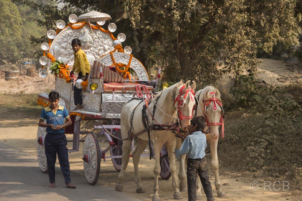 Fahrt durch Uttar Pradesh, Hochzeitskutsche