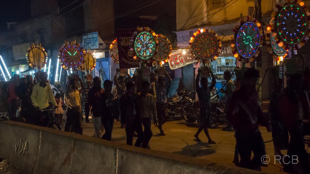 Varanasi, Hochzeitsumzug