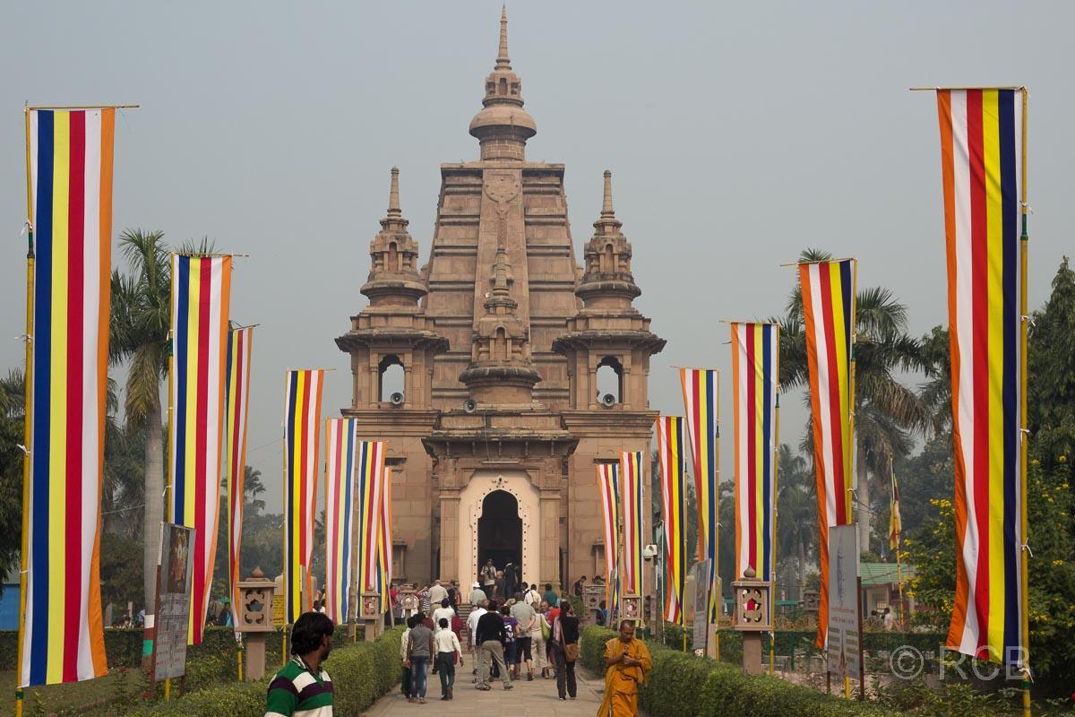 Sarnath, Tempel Mulagandha Kuti Vihara
