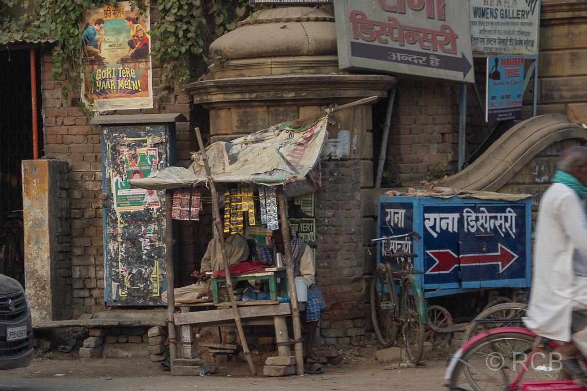 Varanasi, Straßenhändler