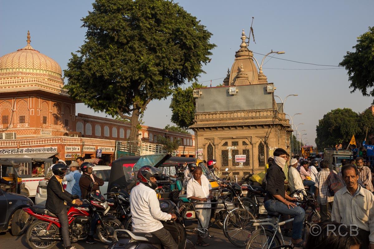 Straßenszene, Jaipur, Altstadt