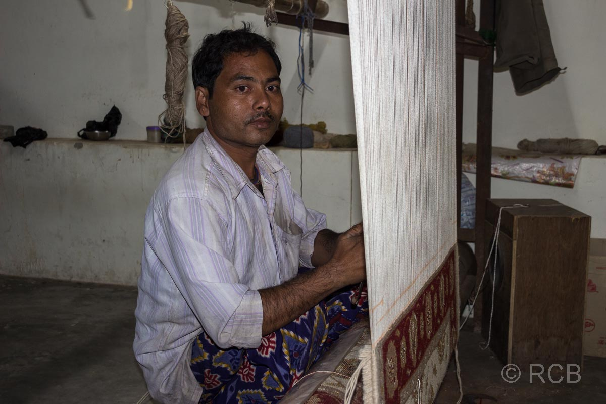 Teppichknüpfer, Jaipur