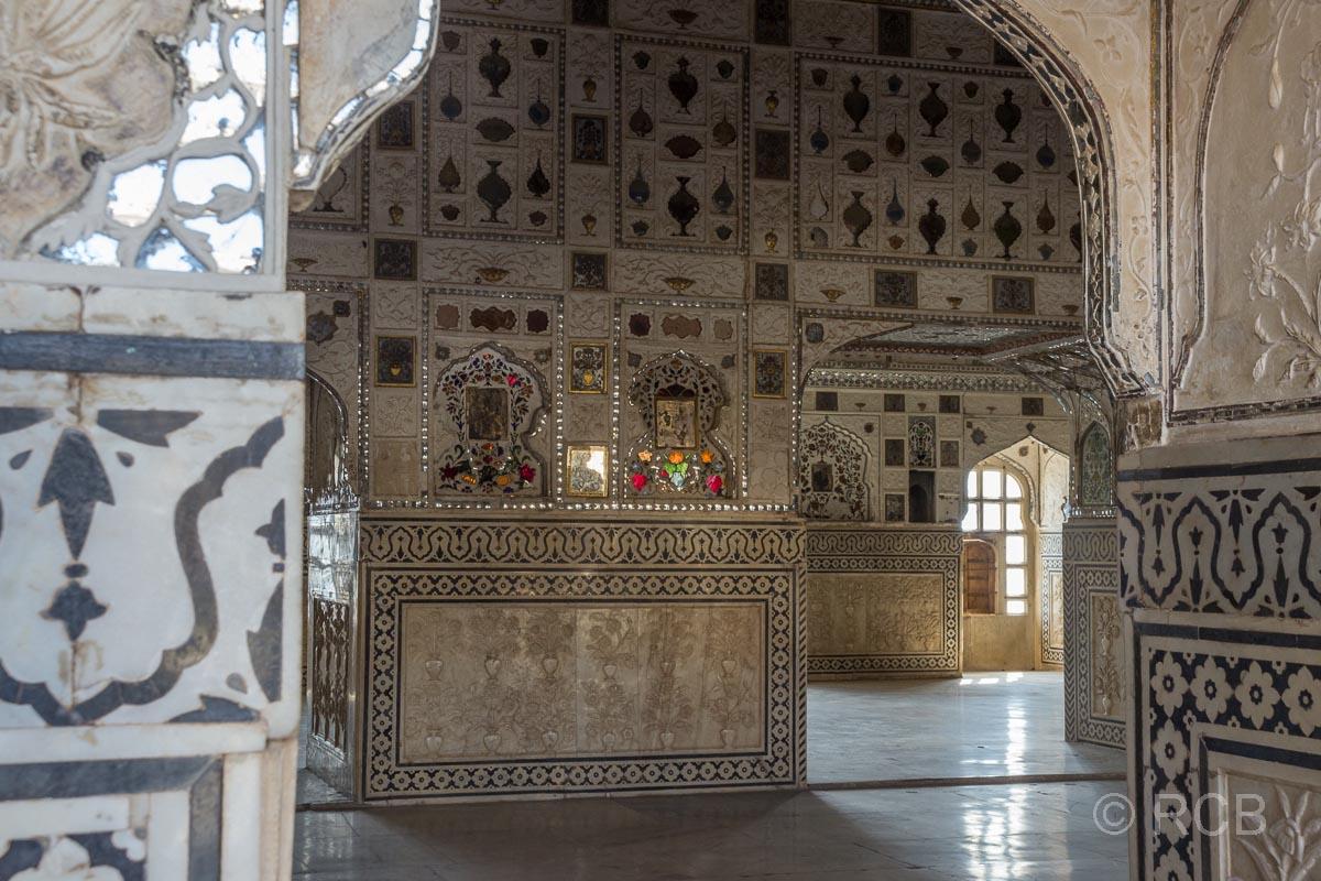 Amber Fort, Audienzhalle Diwan-i-Khas