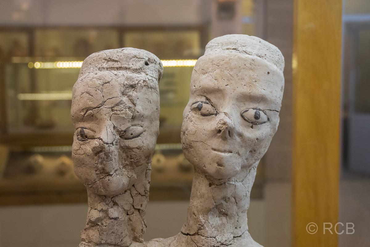 Zitadelle, 10.000 Jahre alte Statue im Archäologischen Museum