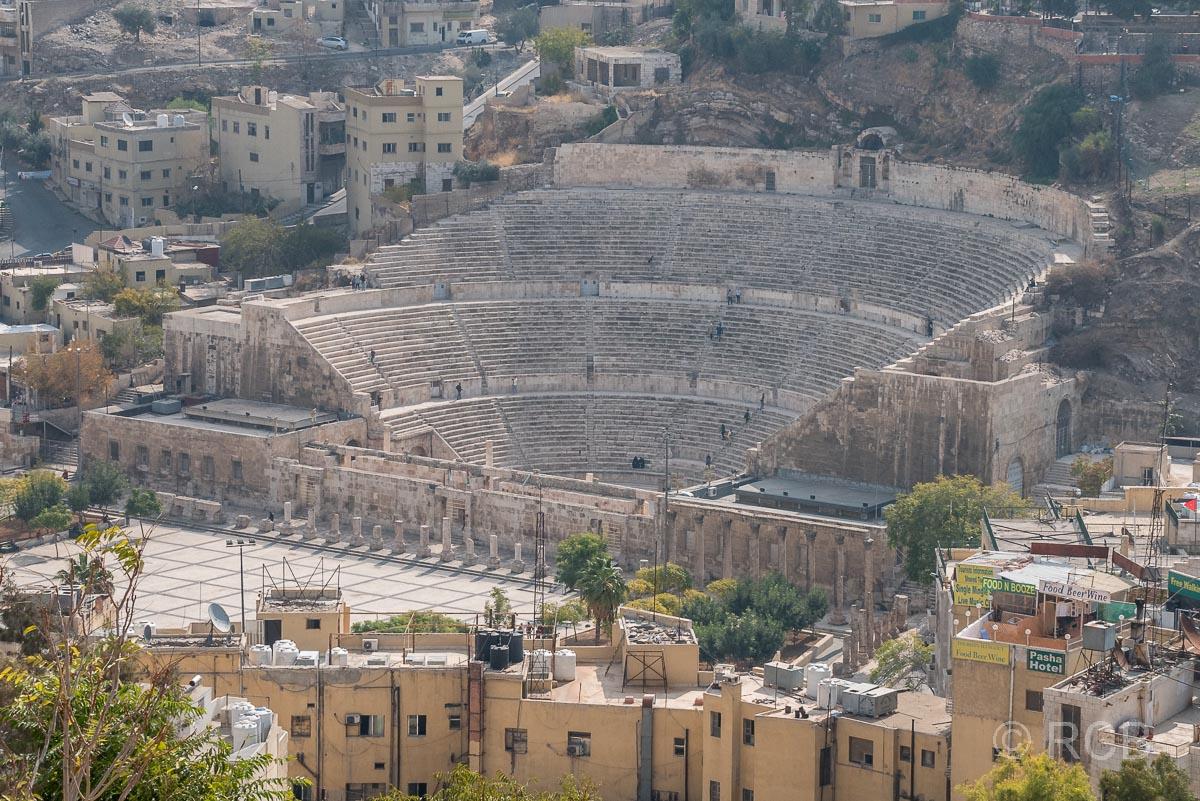 Zitadelle, Blick auf das Römische Theater