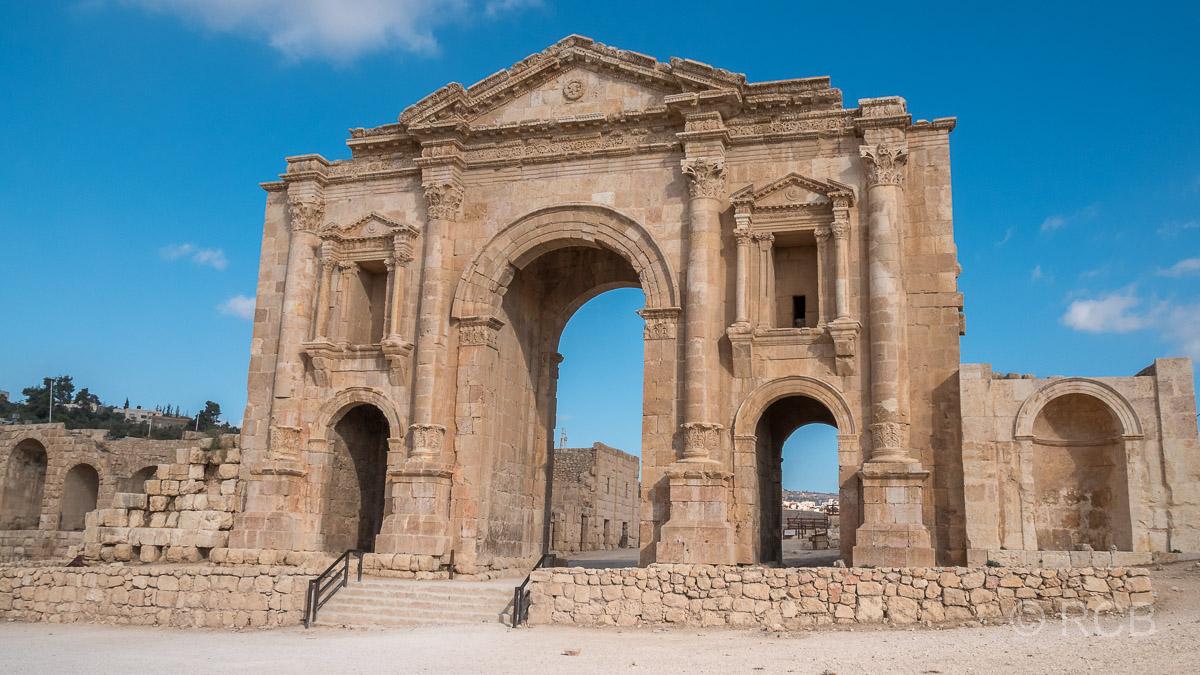 Jerash, Hadrianstor