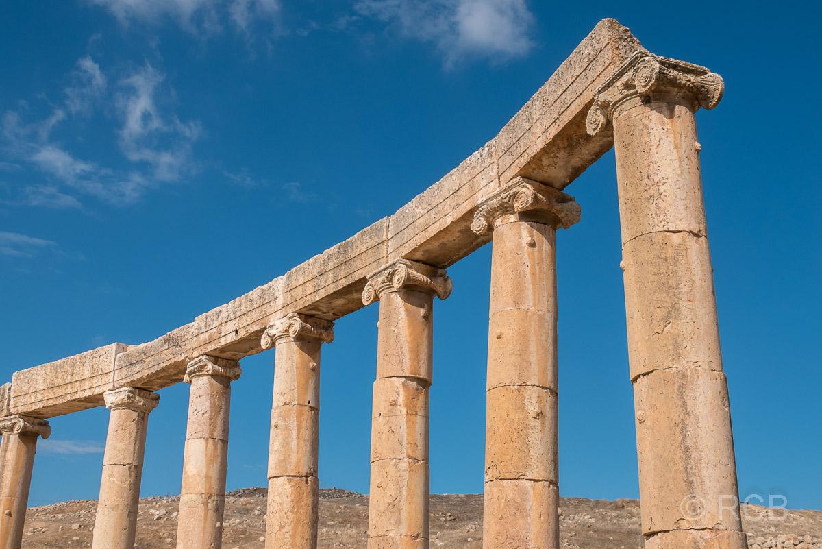 Jerash, Ovales Forum