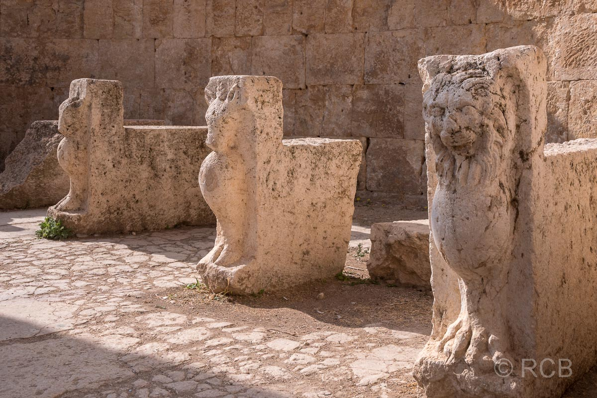 Jerash, Macellum