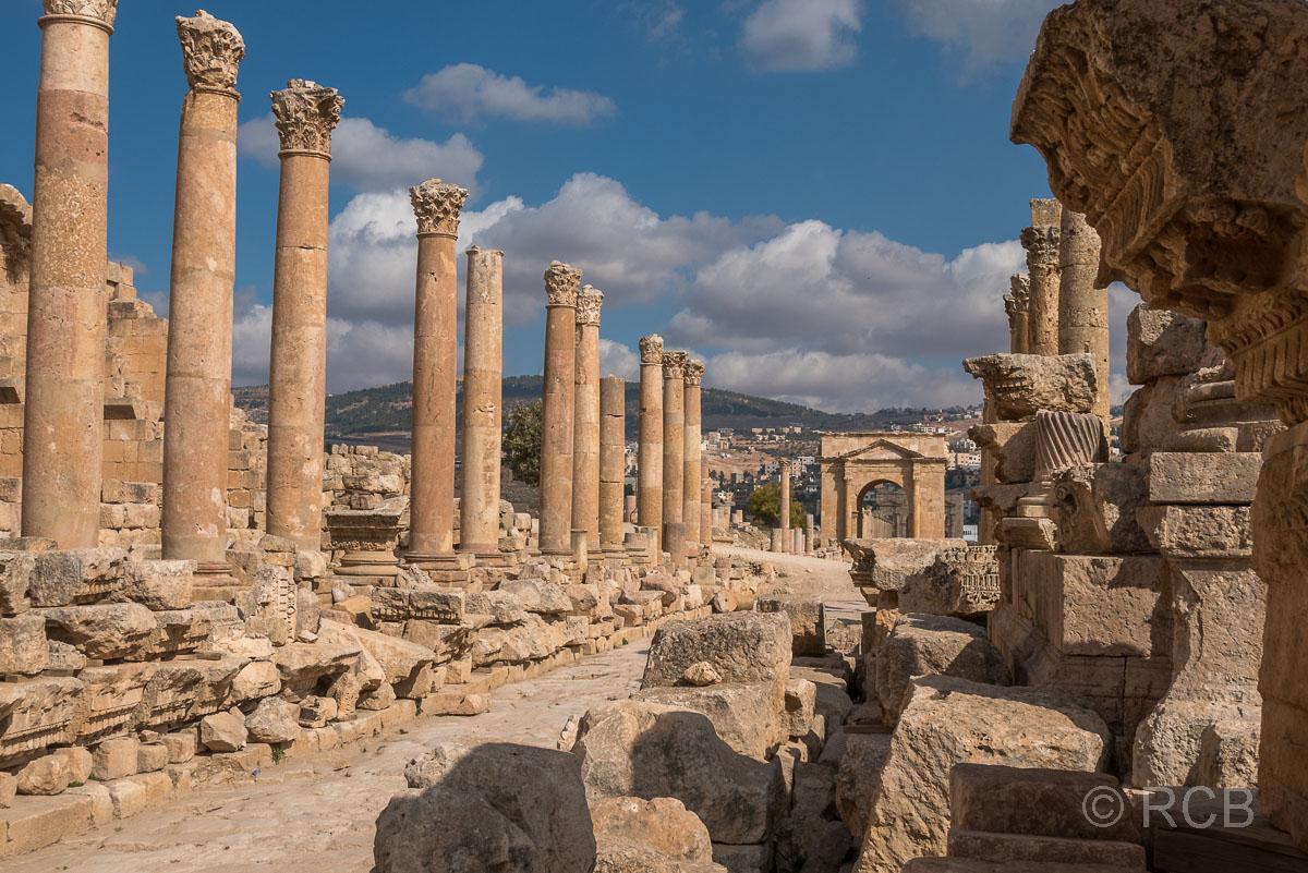 Jerash, Cardo Maximus
