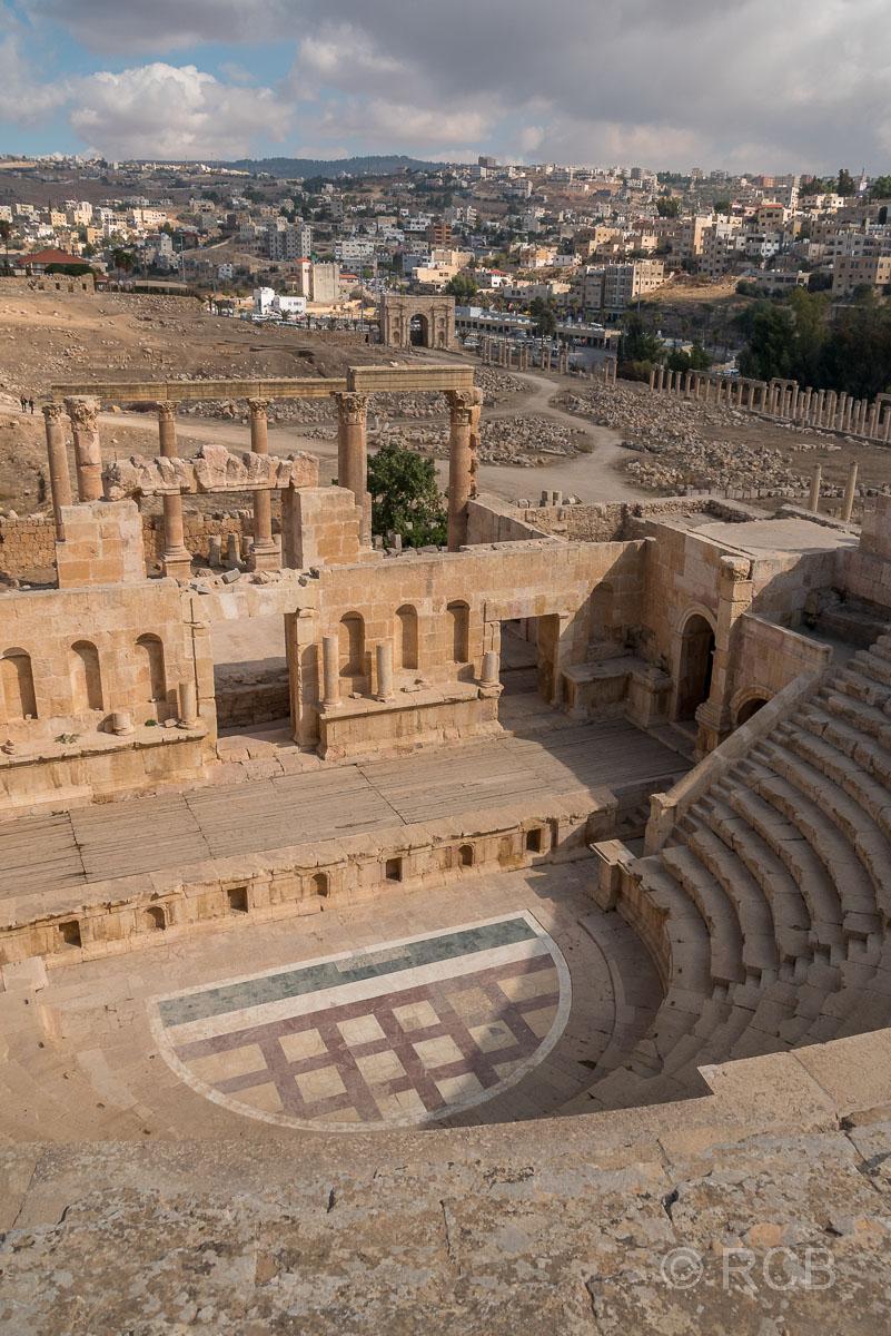 Jerash, Nordtheater