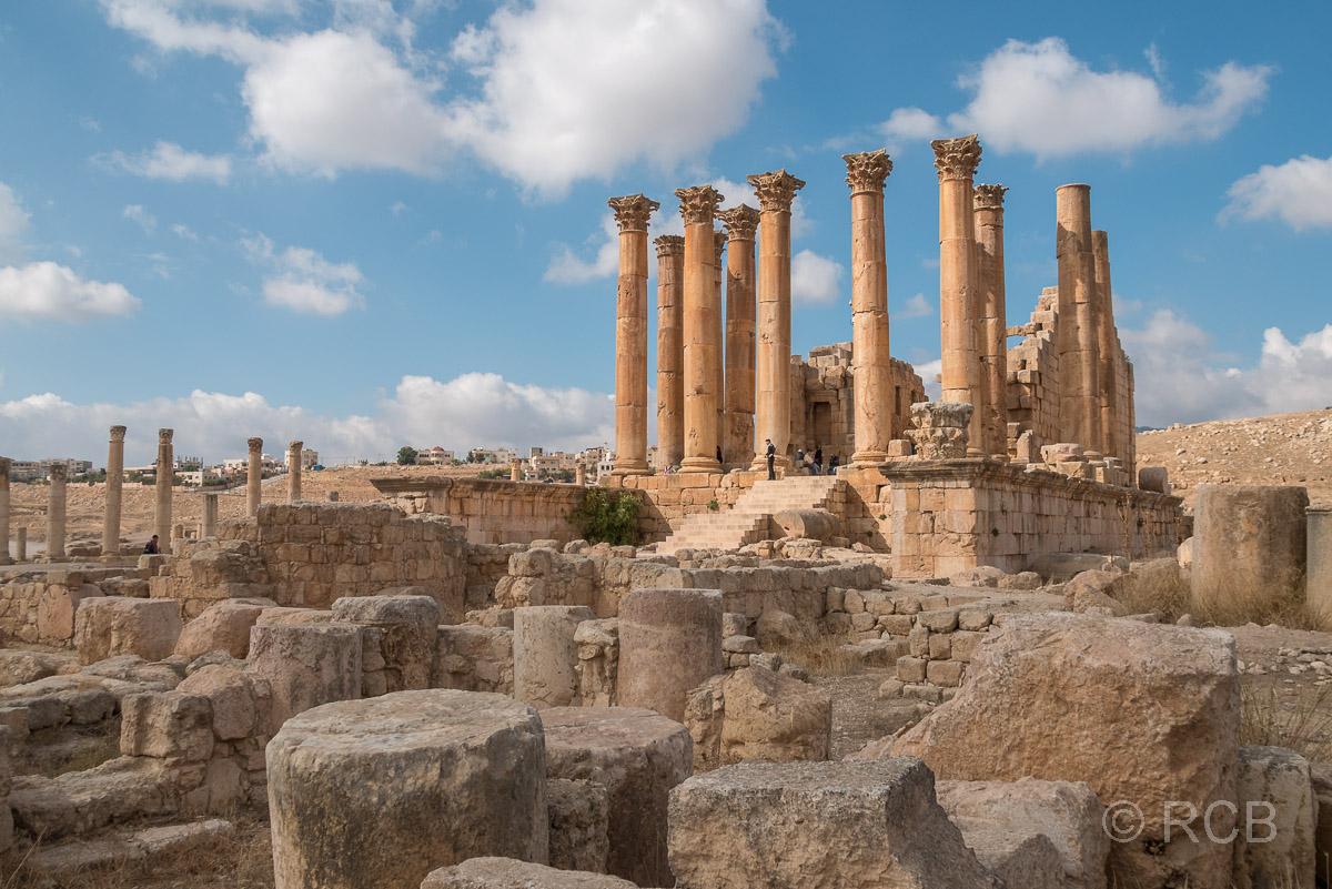 Jerash, Artemistempel