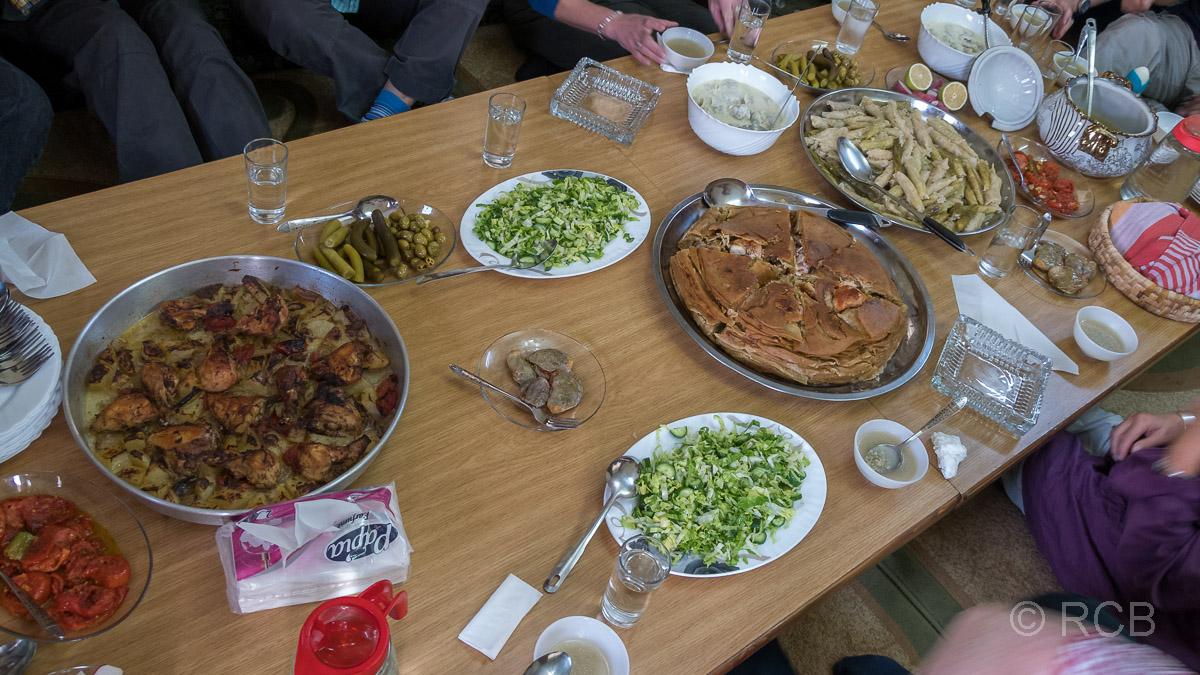 """Umm Qais, Mittagessen in """"Galsoum's Kitchen"""""""
