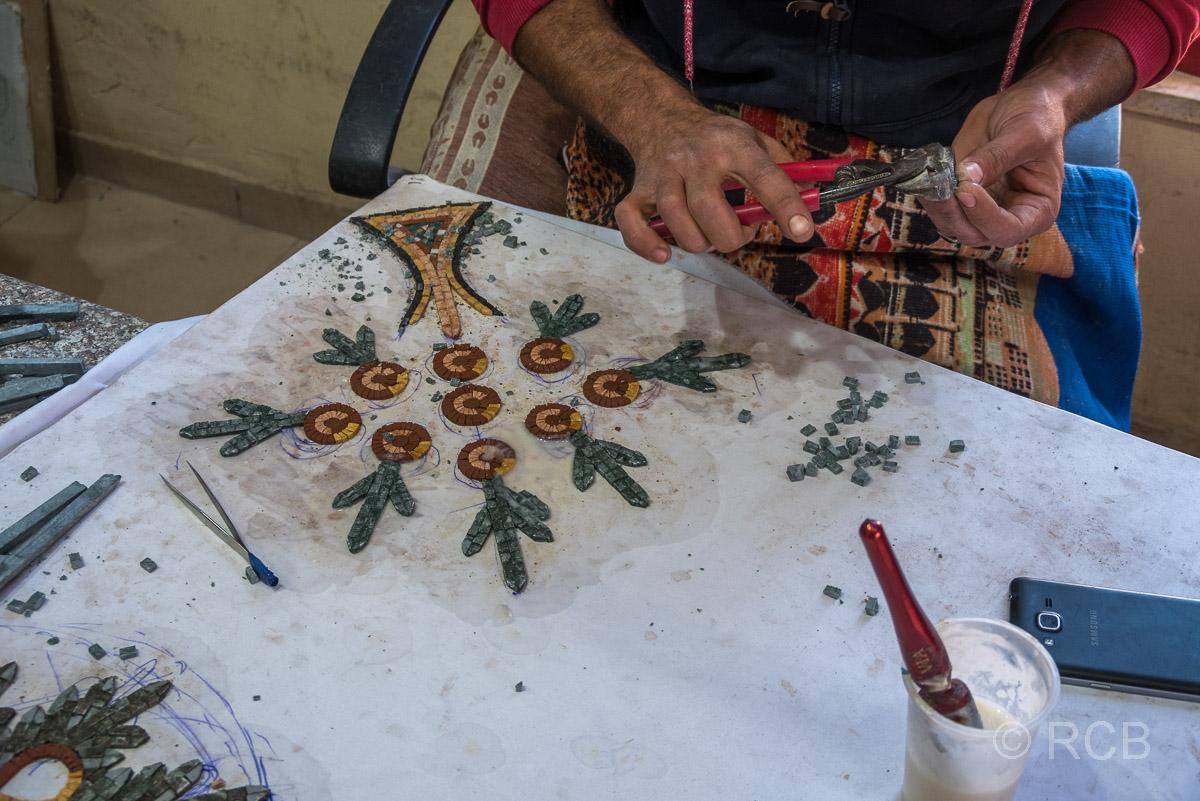 Madaba, Mosaikwerkstatt