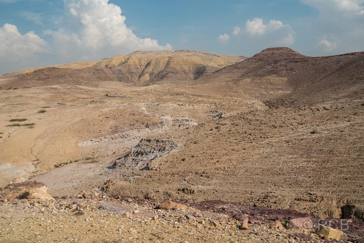 Berge im Hinterland des Toten Meeres