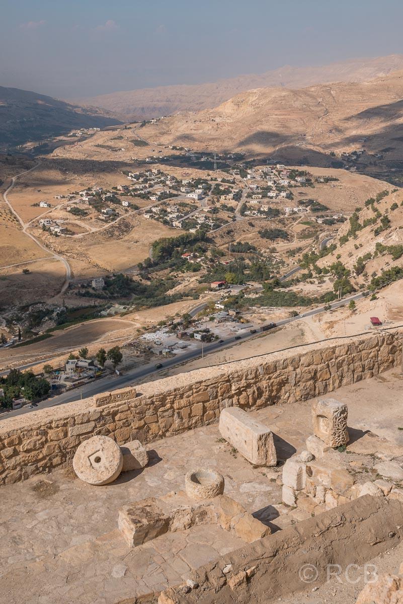 Kerak, Blick von der Festung
