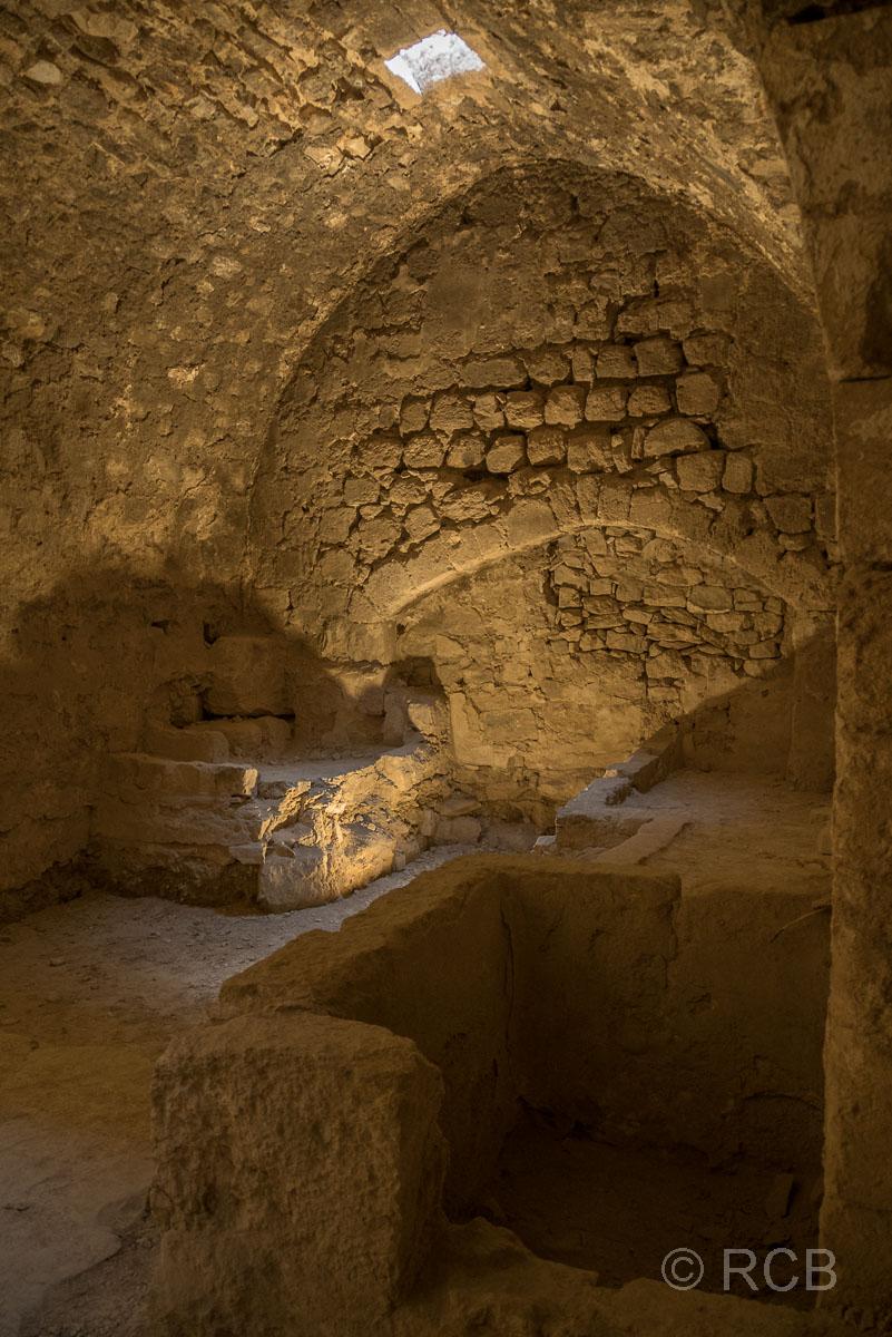 Kerak, Inneres der Festung