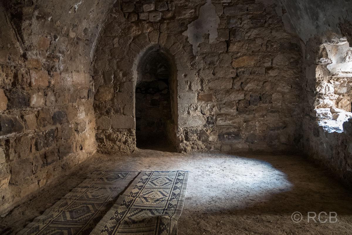 Kerak, Moschee in der Festung