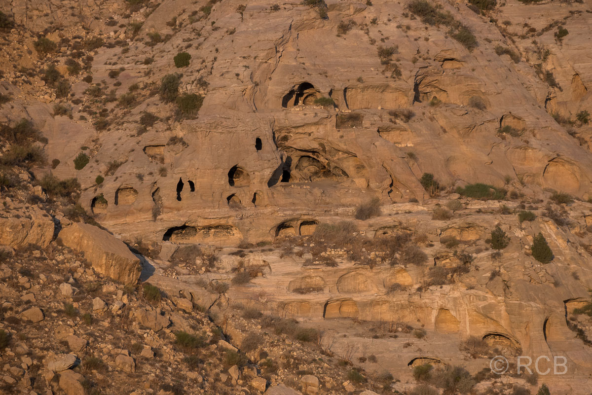 Sandsteinhöhlen im Dana Naturreservat