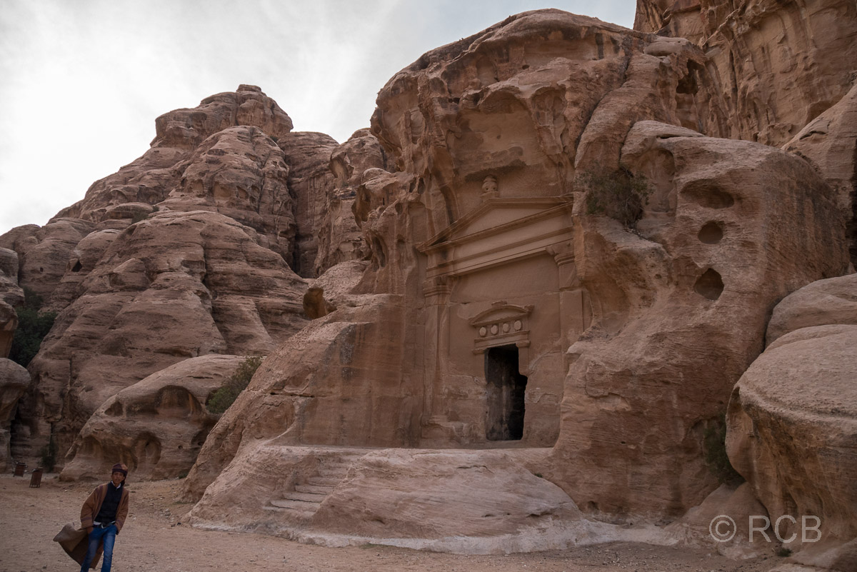 nabatäisches Felsengrab, Klein-Petra