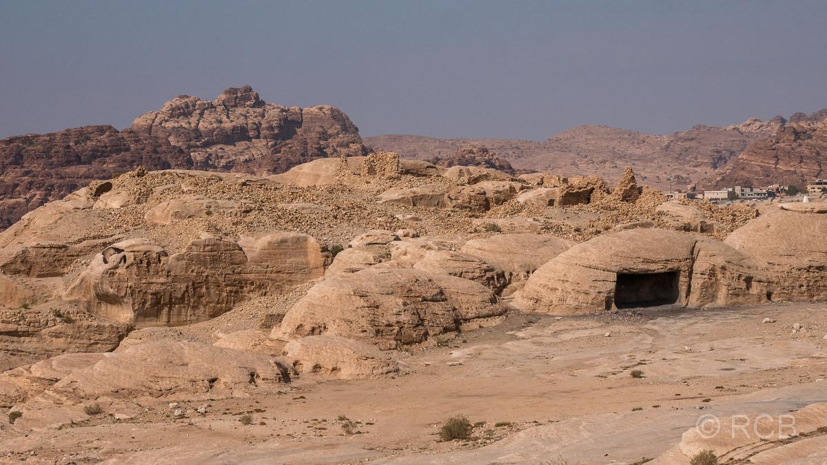 Petra, Reste der Kreuzfahrerburg