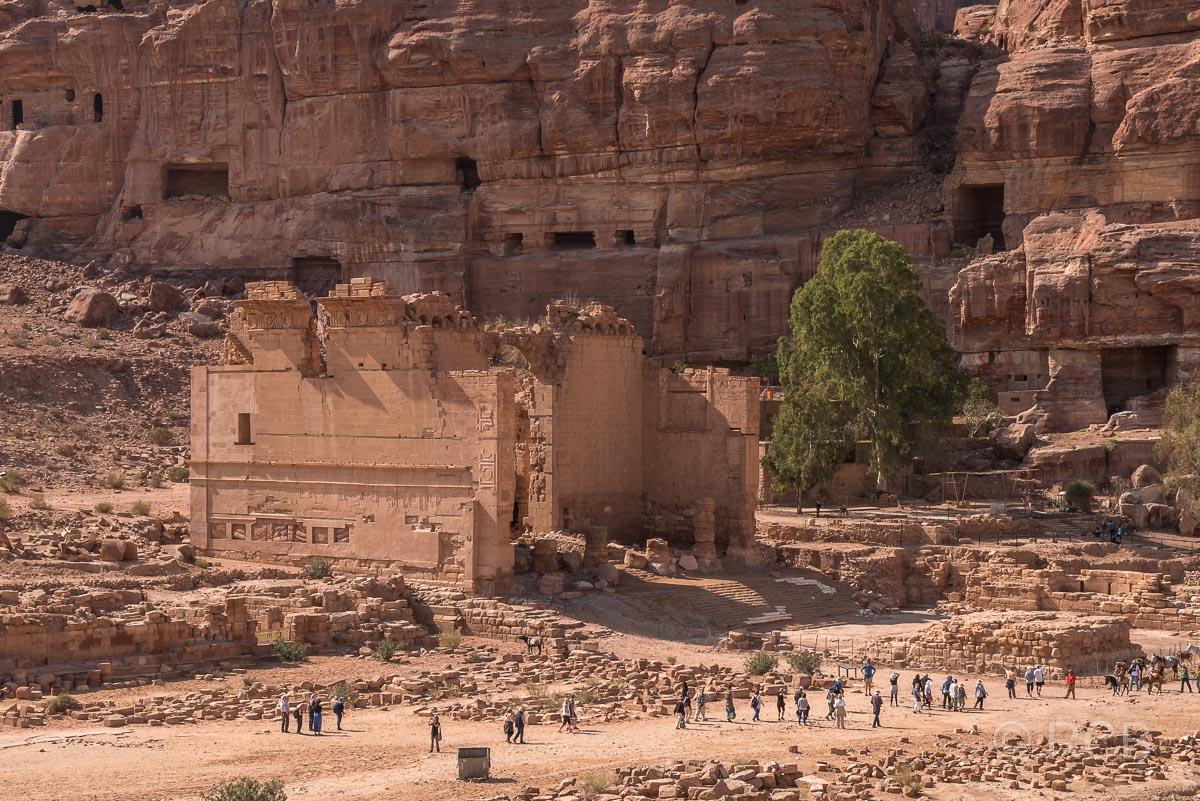 "Qasr el Bint Faraun, der ""Palast der Pharaonentochter"""