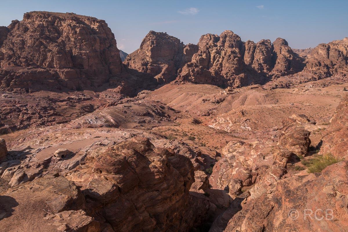Blick ins Wadi Farasa