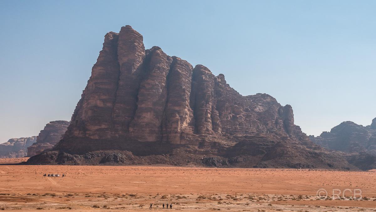 """""""Die sieben Säulen der Weisheit"""" im Wadi Rum"""