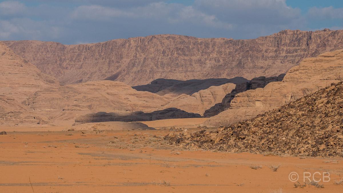 Felsen im Wadi Rum