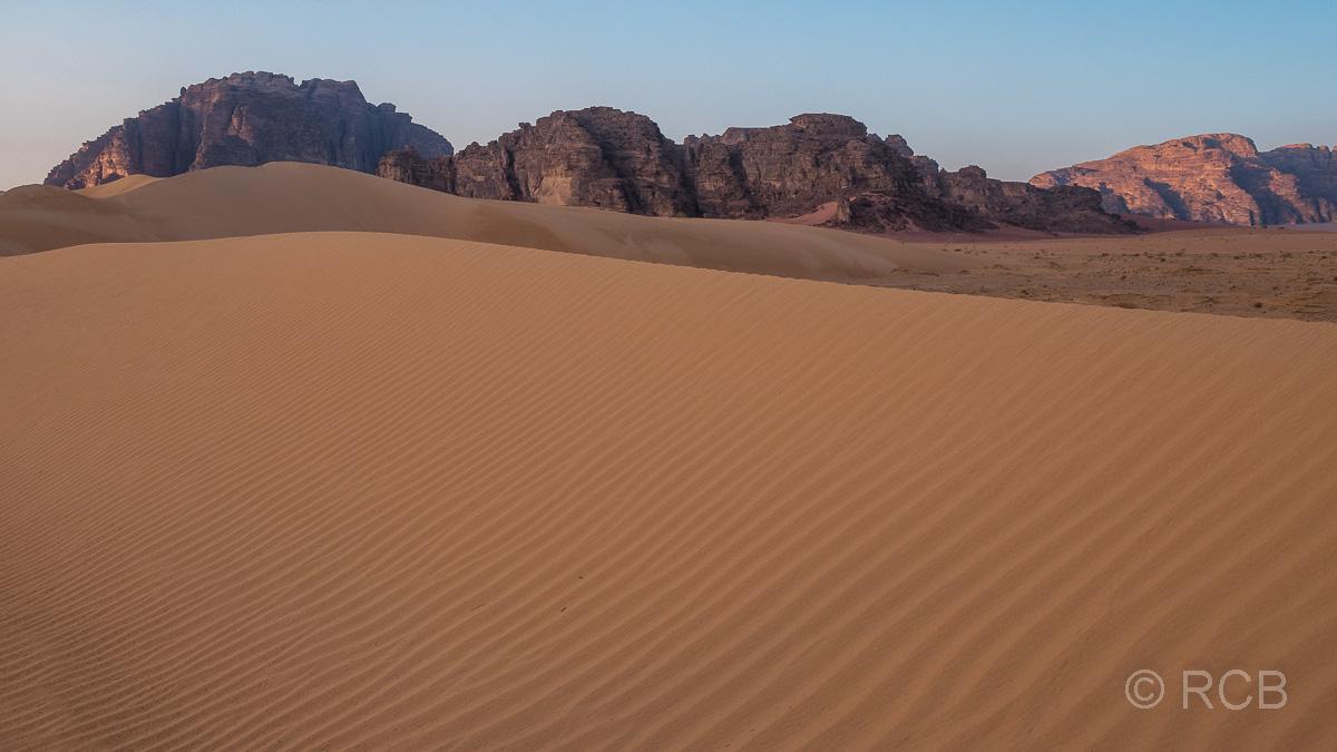 Düne im Wadi Rum