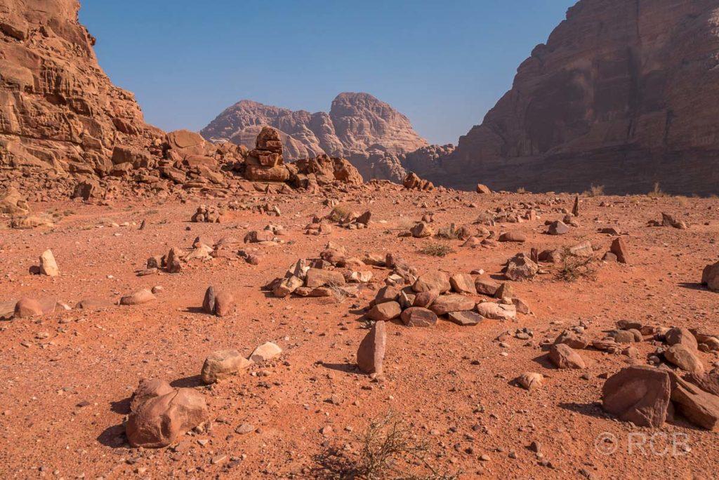 Beduinenfriedhof imWadi Rum