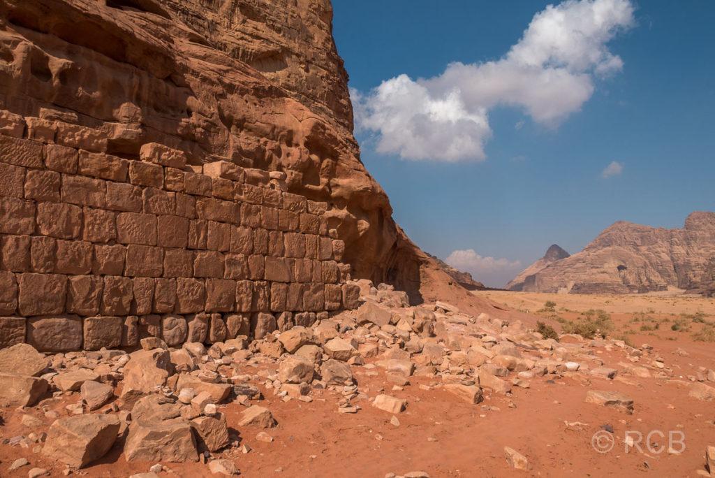 """""""Lawrence von Arabiens Haus"""" im Wadi Rum"""