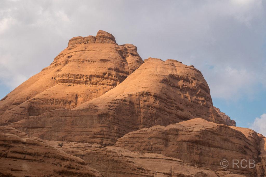 Felskuppen im Wadi Rum