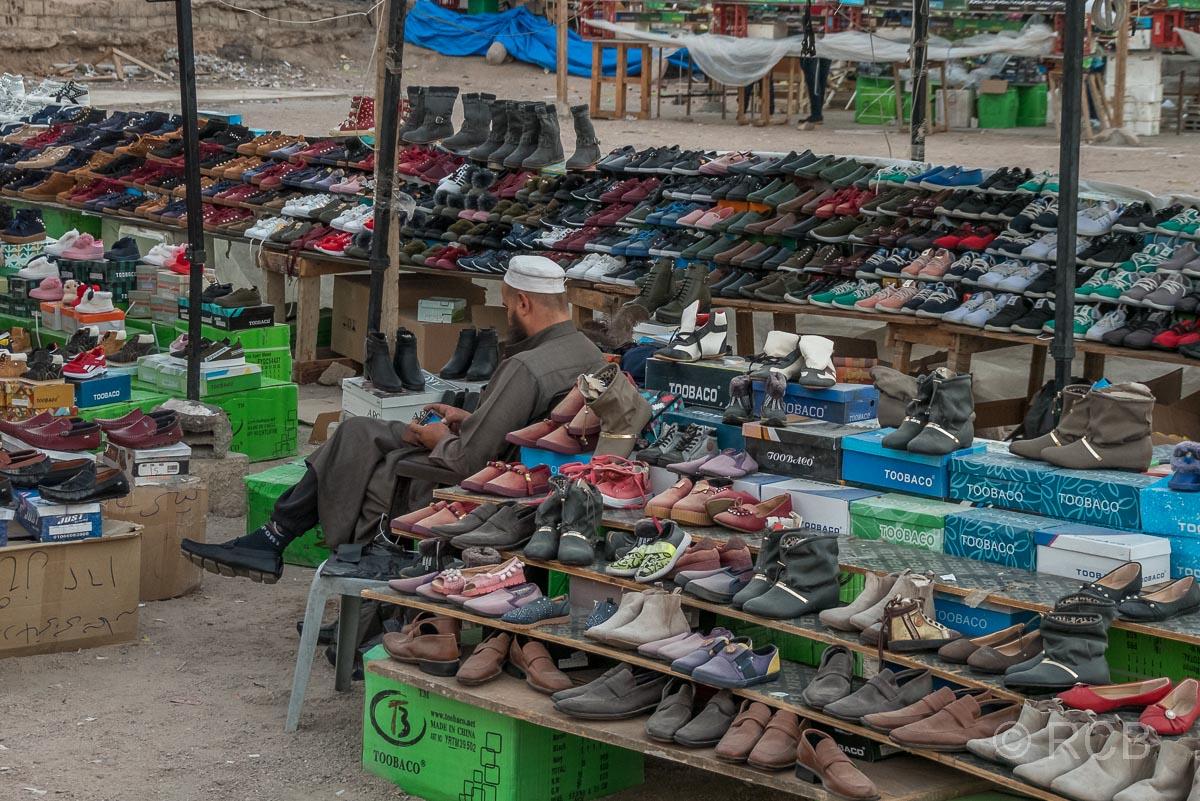 Schuhverkäufer, Aqaba