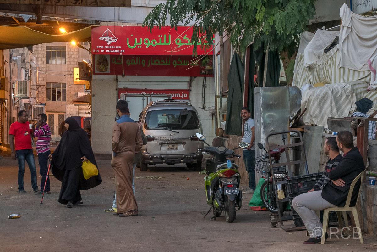 im Souk, Aqaba