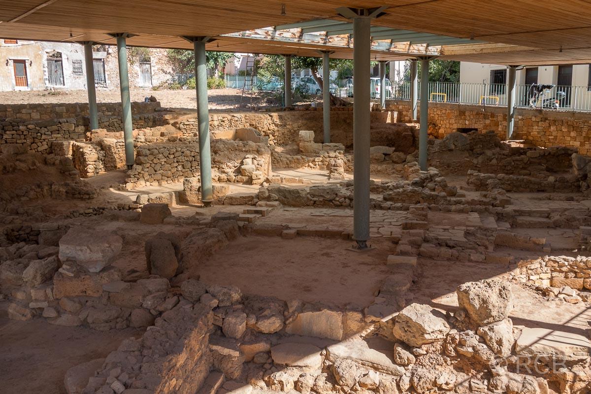 Chania, Ausgrabungen auf dem Kastelli-Hügel