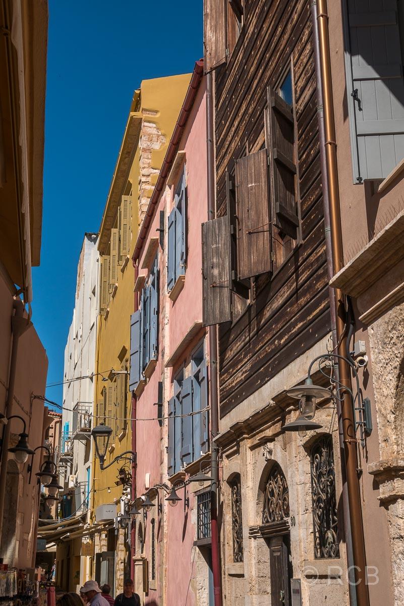 Chania, Häuserfassaden in der venezianischen Altstadt