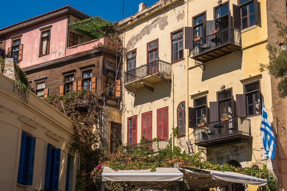 Chania, Häuser in der venezianischen Altstadt
