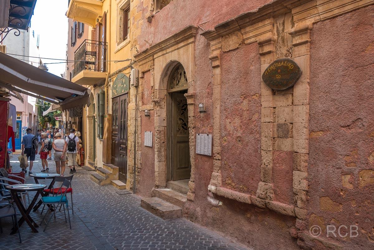 Chania, Gasse in der venezianischen Altstadt