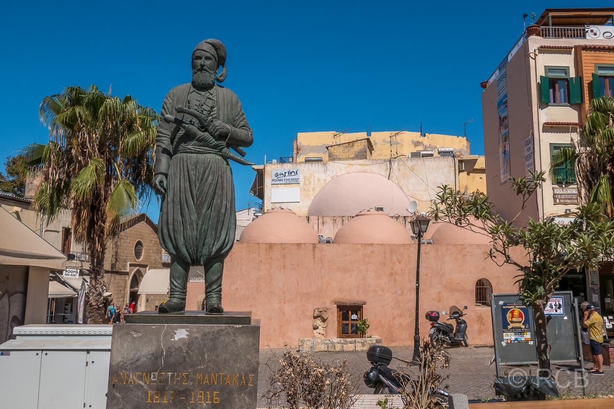 Chania, Denkmal des Freiheitskämpfers Anagnostis Mantakas
