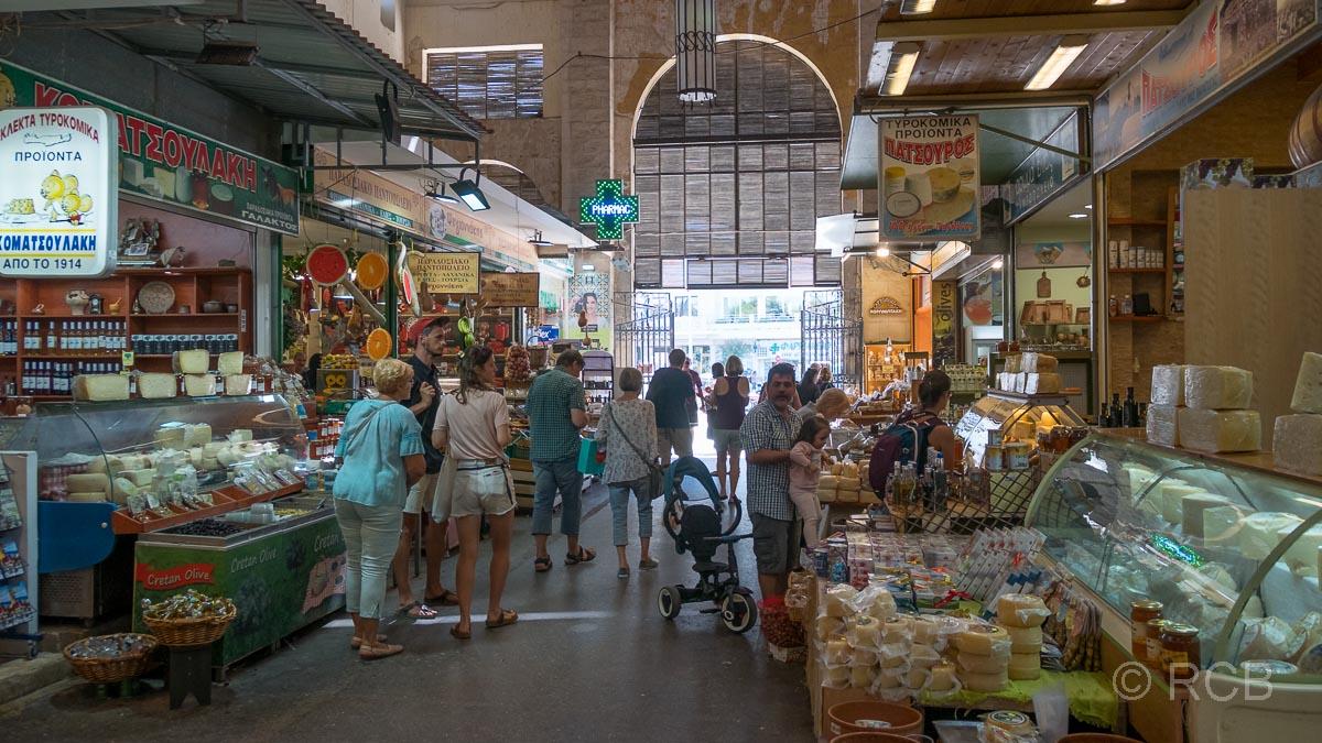 Chania, Inneres der Markthalle