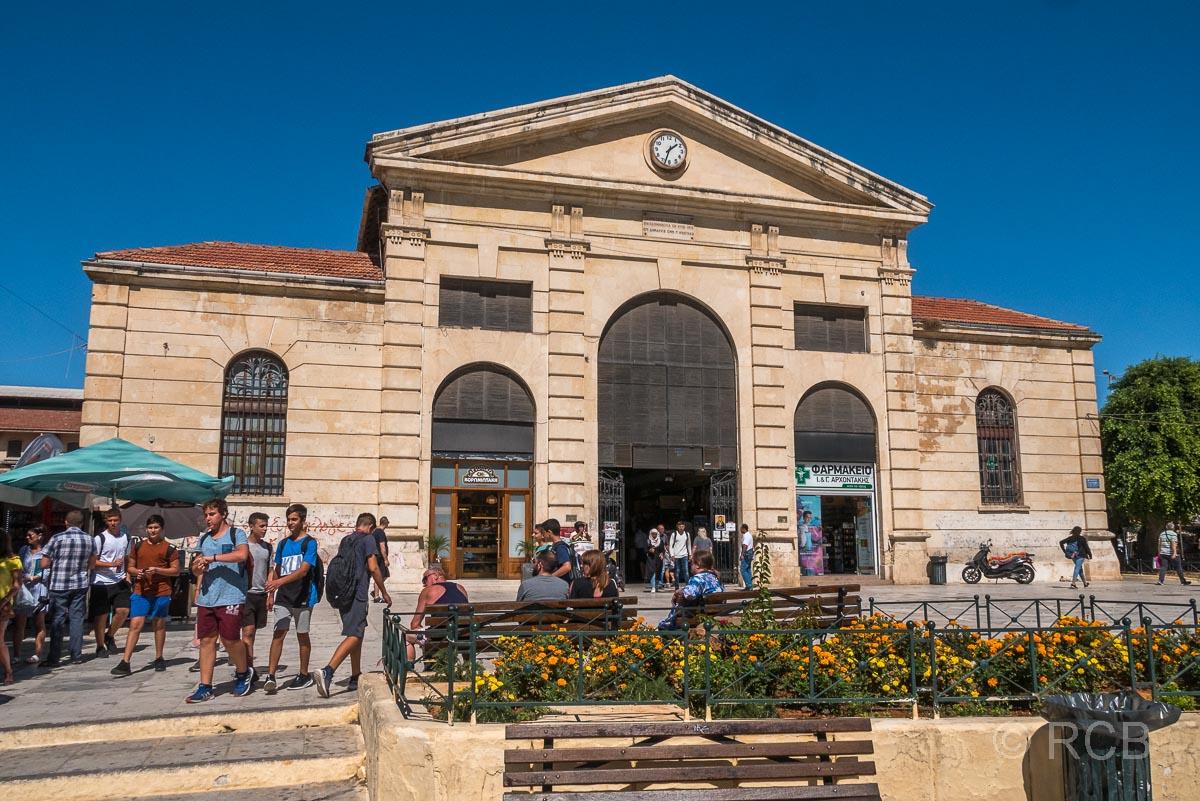Chania, Markthalle, Fassade