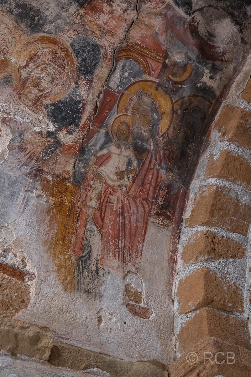 Fresken in der Kapelle Agios Pavlos