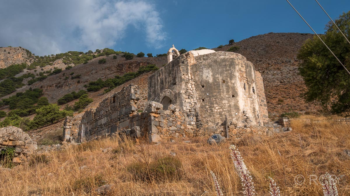 Kapelle in Agia Roumeli