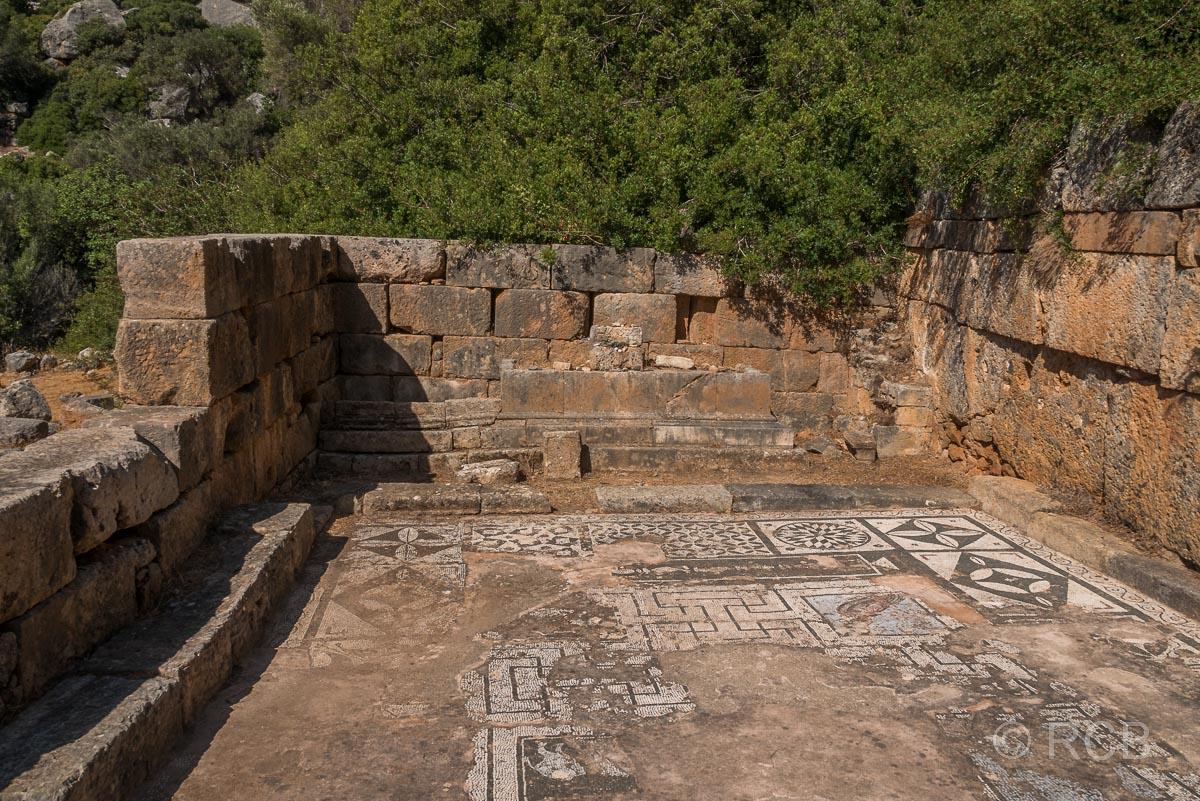 Römische Mosaiken in Lissos