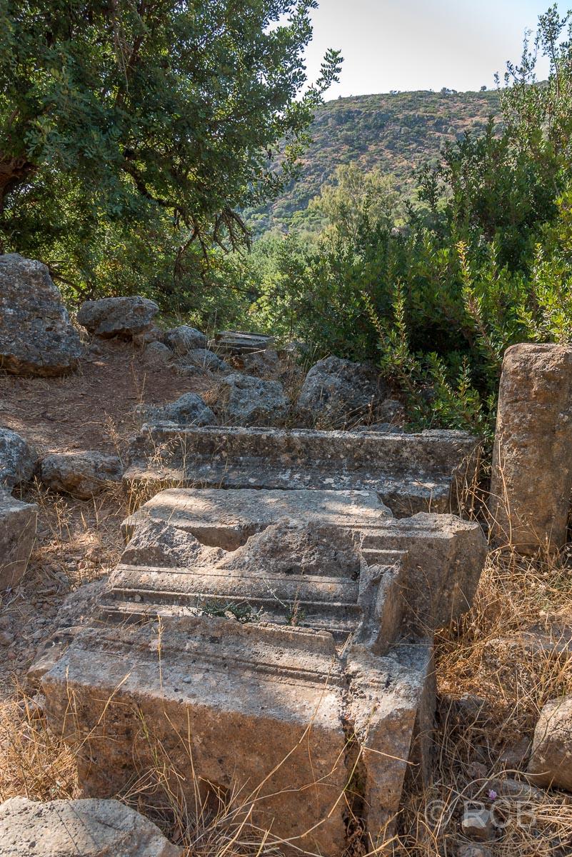 Römische Ruinen in Lissos