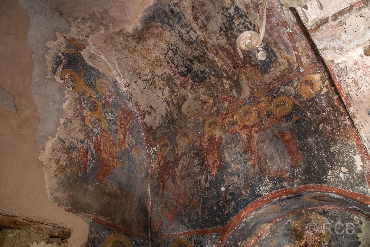 Fresko in der Kapelle von Lissos