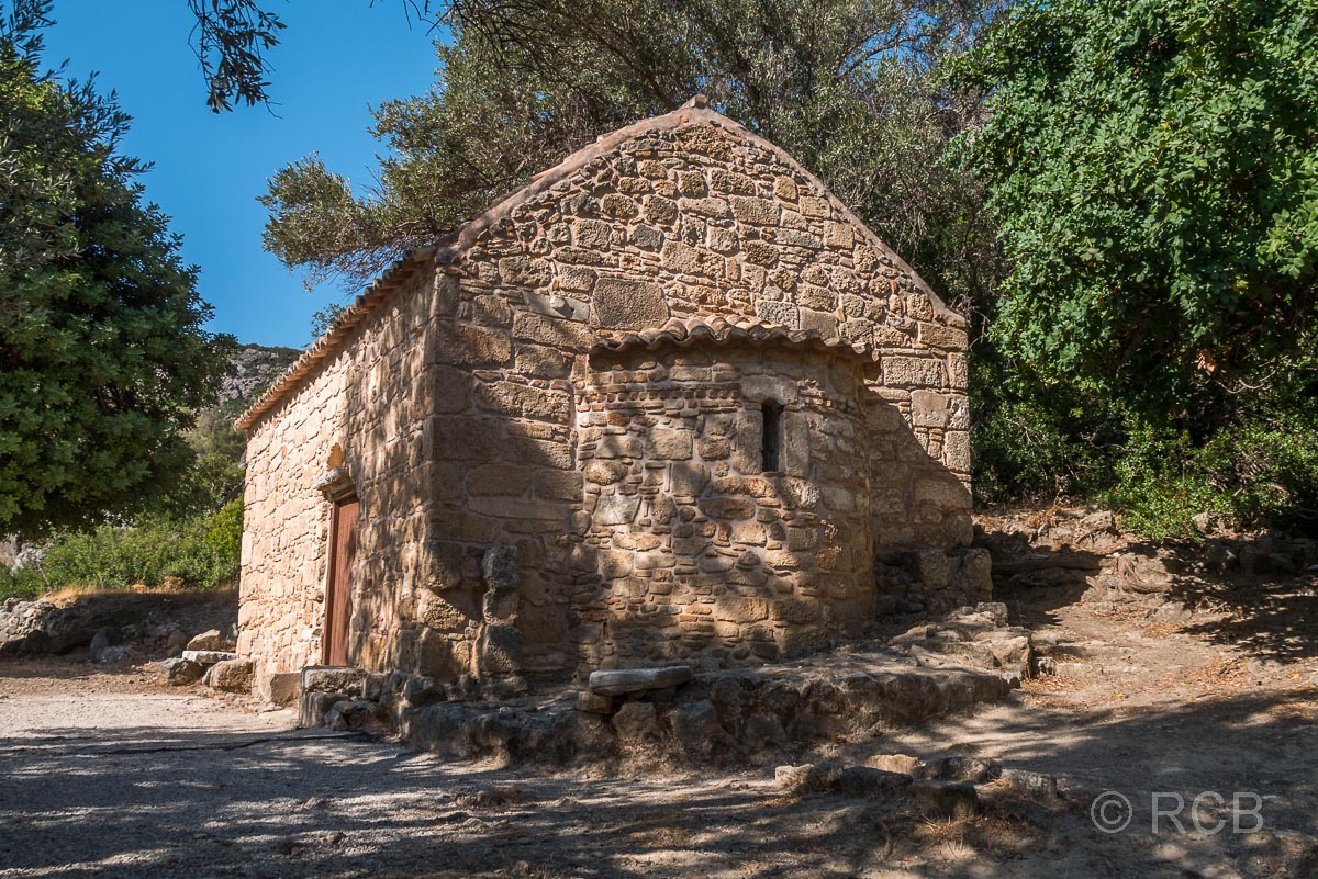 Orthodoxe Kapelle in Lissos